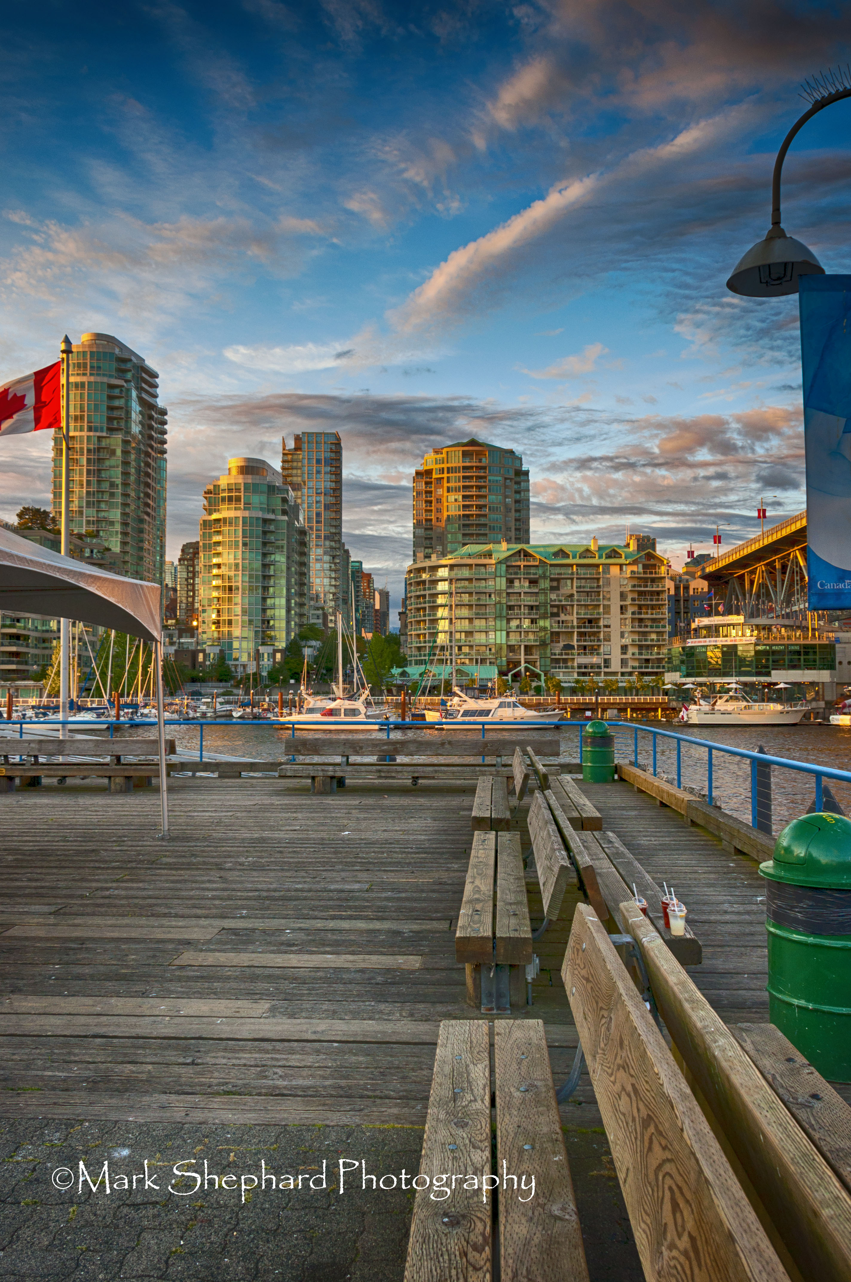 Bridge Across Valley Of Death >> Vancouver Skyline from Granville Island in HDR | opticsandperspectives